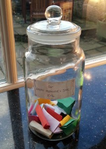Our Happy Memories Jar