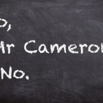 No, Mr Cameron, No.