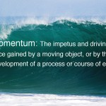 Creativity and momentum