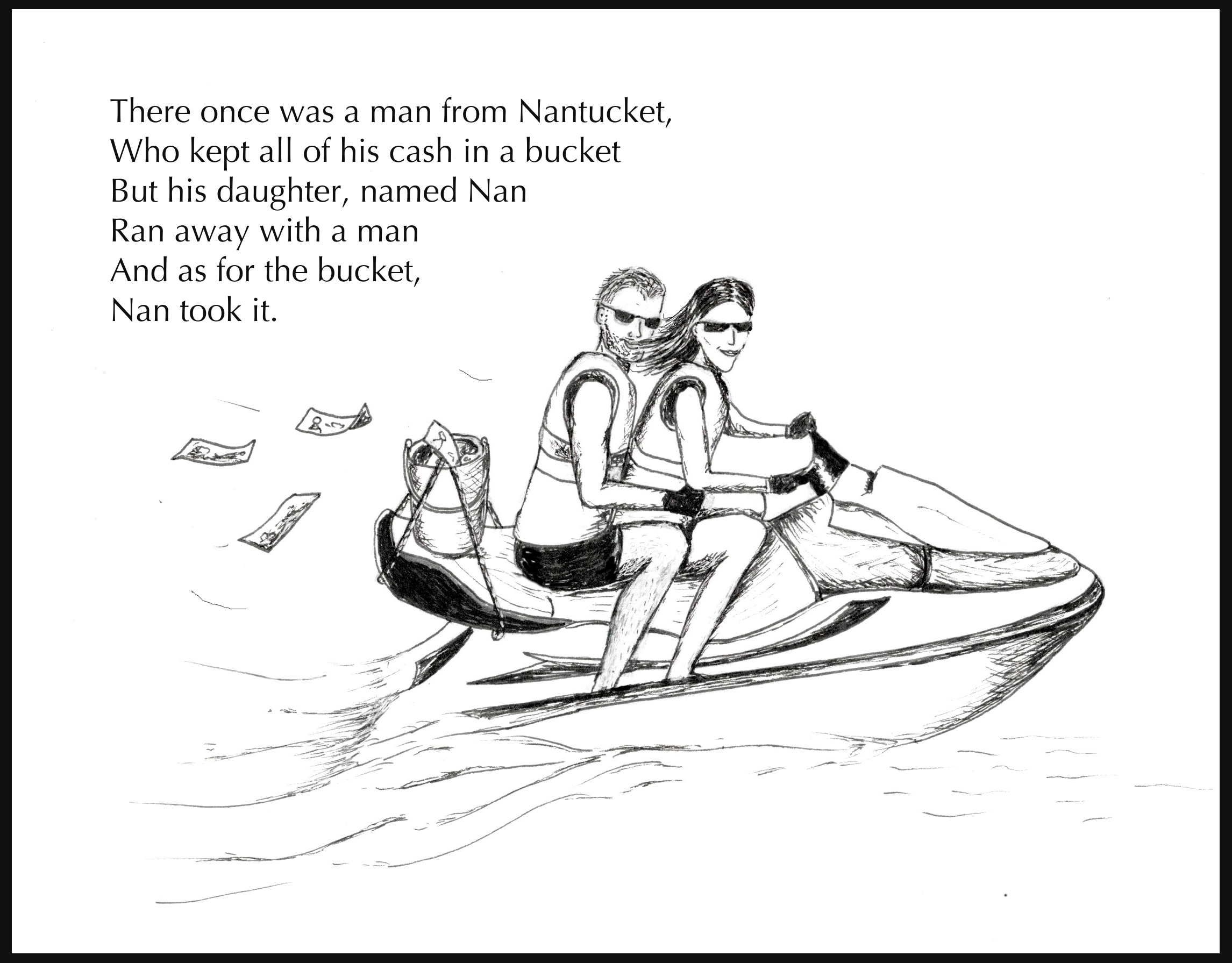 nantucket limerick illustration